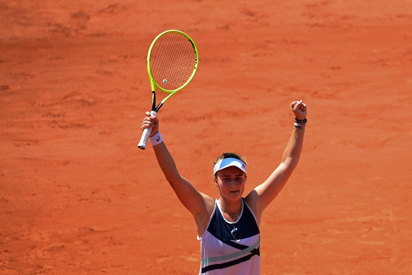 Première demi-finale en Grand Chelem pour Barbora Krejcikova.