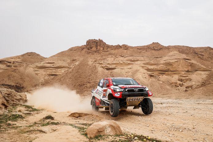 Er staan nog zeven etappes op het programma bij de 43ste editie van de Dakar Rally.