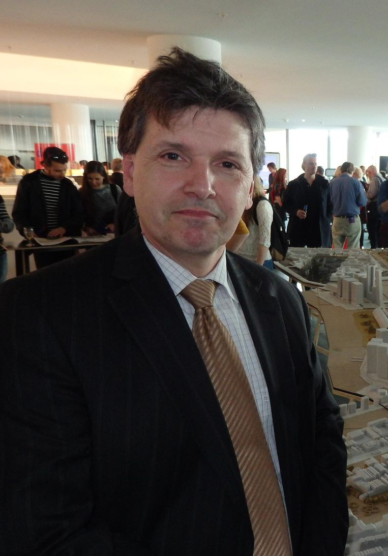 OBA-directeur Martin Berendse Beeld Het Parool