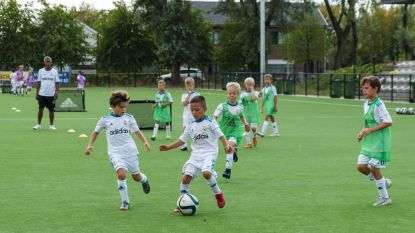 Real Madrid traint Vlaamse jeugd