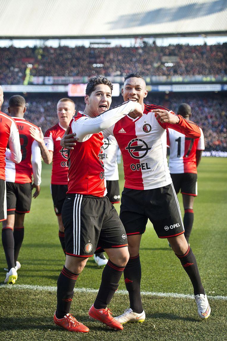 Boëtius in zijn tijd bij Feyenoord. Beeld Guus Dubbelman / de Volkskrant