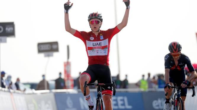 Tourwinnaar Tadej Pogacar blijft nog zeker tot 2026 bij UAE