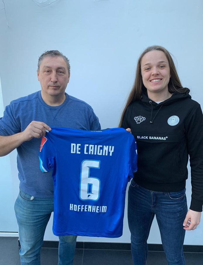 Tine De Caigny trekt naar Hoffenheim.