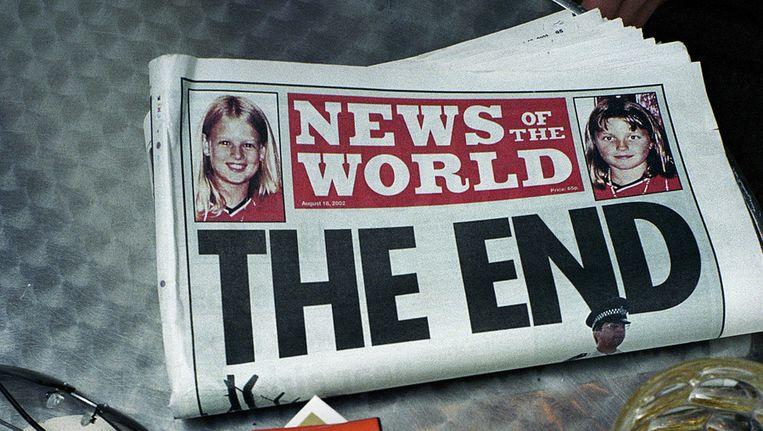 De Britse krant News of the World ligt al dagen onder vuur. Beeld