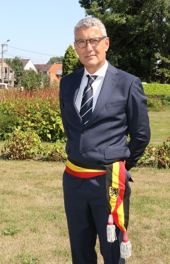 Burgemeester Stephan Mourisse (LVP).