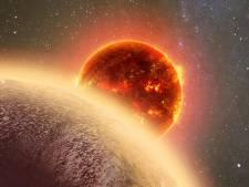Doorbraak voor wetenschappers: sporen van water op planeet bij andere ster