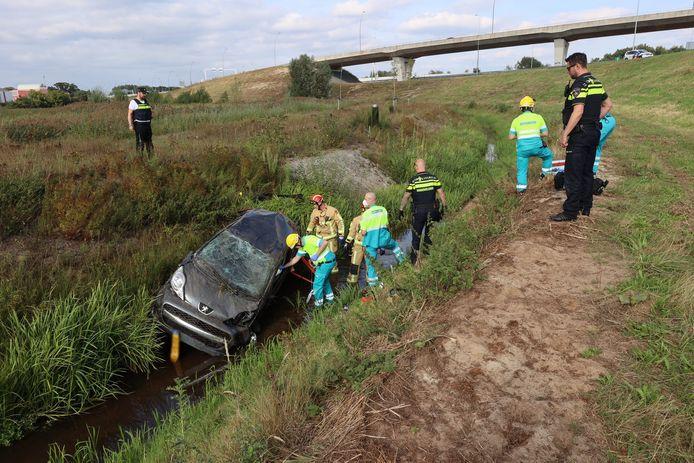 Zwaargewonde door ongeluk op de N2 bij Eindhoven