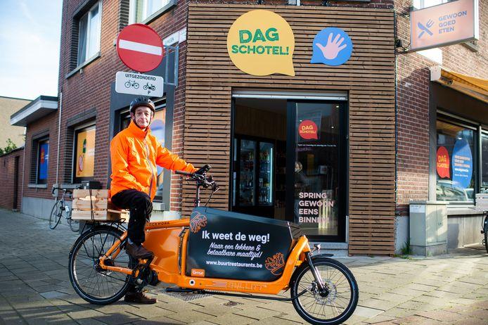 Buurtrestaurant Dagschotel in Merksem. Vrijdag opent een tweede restaurant in Hoboken.