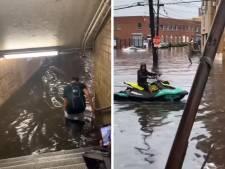 Impressionnantes inondations à New York