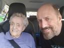 Samen met Ger, toen ze net van de kapper kwamen. De laatste jaren van haar leven woonde Aafke bij haar oudste zoon in Rotterdam.