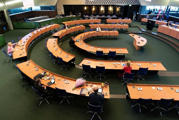 De Statenzaal in het Brabantse provinciehuis.