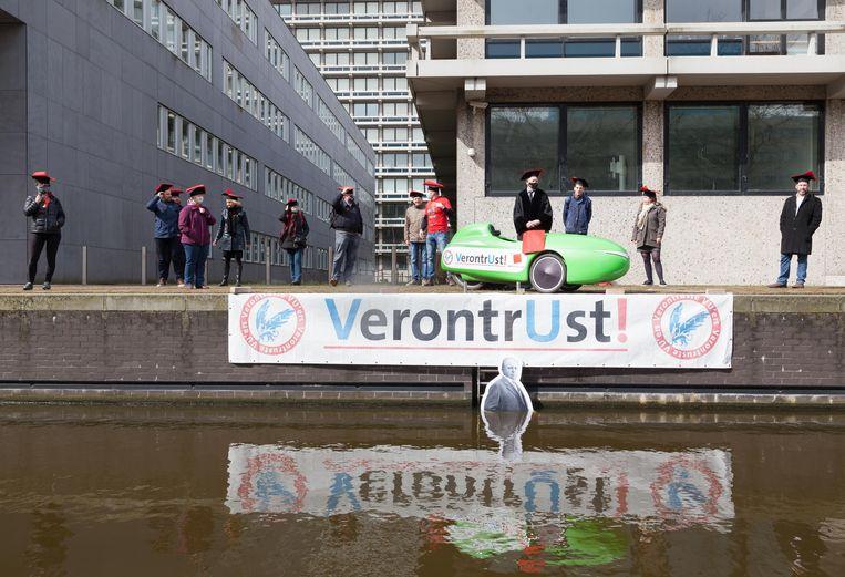 Universiteiten roepen het kabinet op om elk jaar 1,1 miljard extra te investeren in alle Nederlandse universiteiten. Beeld Nina Schollaardt