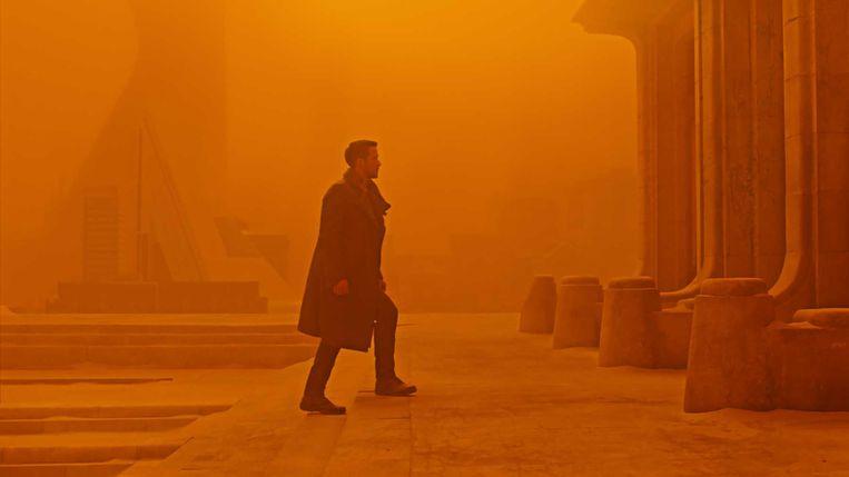 Ryan Gosling in Blade Runner 2049 van Denis Villeneuve. Beeld