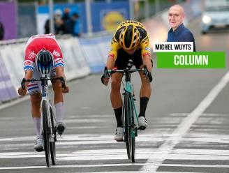 """Michel Wuyts voor zijn laatste WK: """"O God, bespaar mij de millimetersprint. Van Aert versus Van der Poel en de wurgende onzekerheid erna"""""""