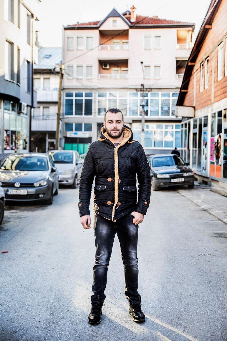 Igor Naskovic Serviër, werkloos. Beeld Aurélie Geurts
