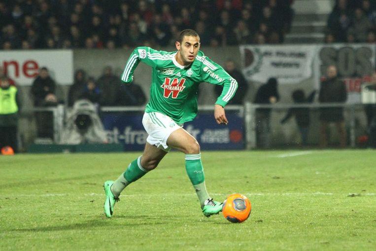 De Algerijnse international Faouzi Ghoulam gaat van Saint-Etienne naar Napels.