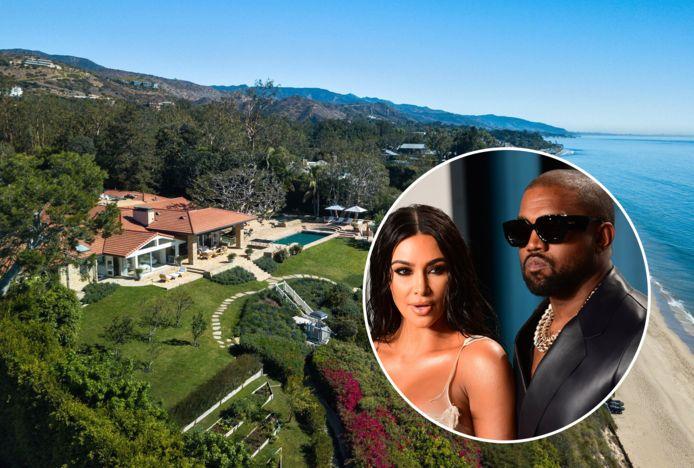 Kim Kardashian et Kanye West ont loué une magnifique villa en bord de mer à Malibu dans l'espoir de sauver leur relation (montage 7sur7).