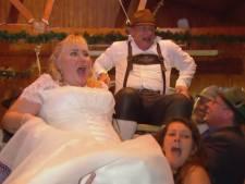 Koppel uit Deventer met heftig verleden krijgt gedroomde Tiroler-bruiloft dankzij Mary Borsato
