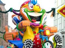 Carnaval: optochten in kaart
