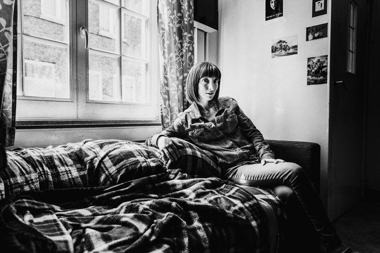 Delphine Lecompte. Beeld © Stefaan Temmerman