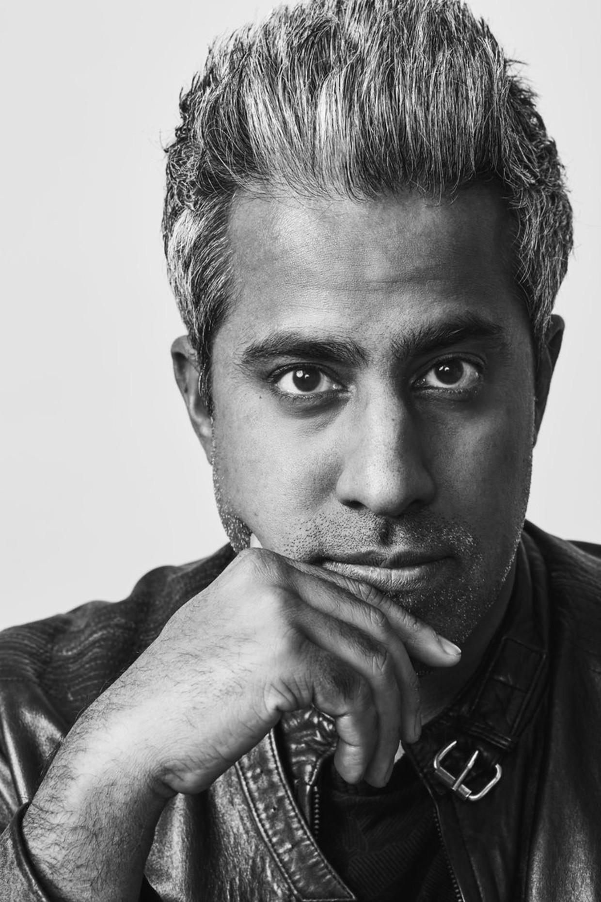 Anand Giridharadas: 'De economie werkt goed voor te weinig mensen.' Beeld Mackenzie Stroh