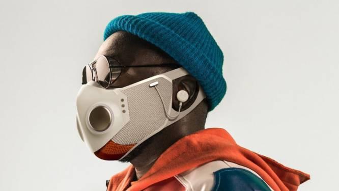 Will.I.Am lanceert 'smart' mondmasker met ingebouwde koptelefoon, bluetooth en ventilatoren