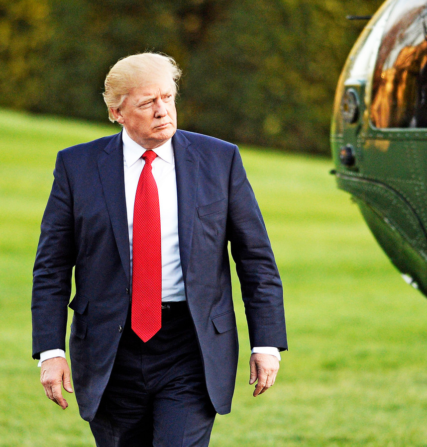 Amerikaanse president Donald Trump.
