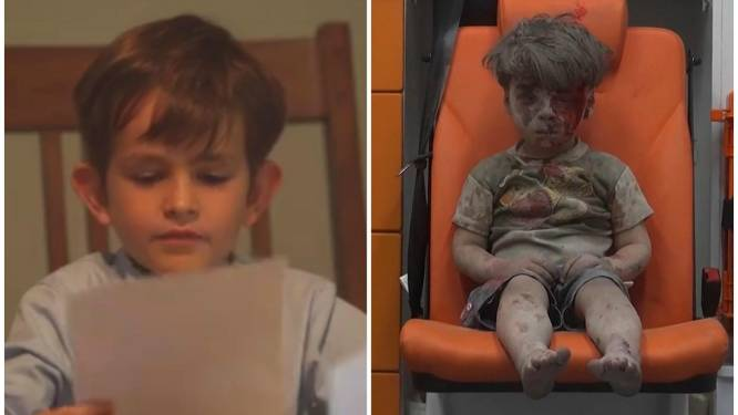 """""""Mag Omran bij mij komen wonen?"""": Alex (6) schrijft deze hartverscheurende brief naar president Obama"""