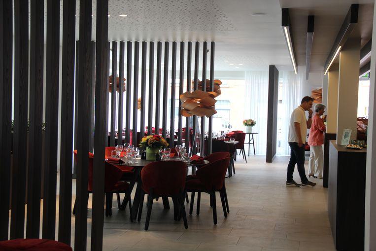 De brasserie van Triamant is ook toegankelijk voor niet-bewoners.