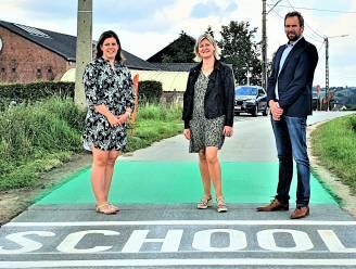 """Maarkedal bracht markeringen aan in omgeving van de scholen: """"Om veiligheid te verhogen"""""""