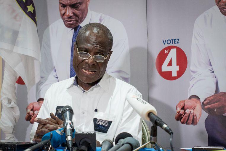 Oppositiekandidaat Martin Fayulu