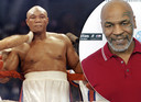 George Foreman. Inzet: Mike Tyson.