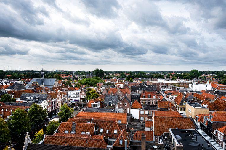 Het centrum van Alkmaar. Beeld Hollandse Hoogte / Ramon van Flymen