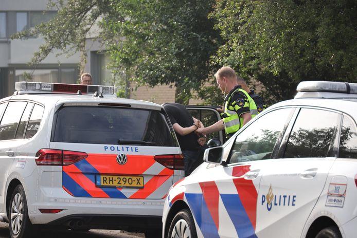 Aanhouding in Waalwijk.