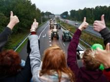 Boeren bezetten natuurgebied Winterswijk: 'We blokkeren alle wegen met trekkers'