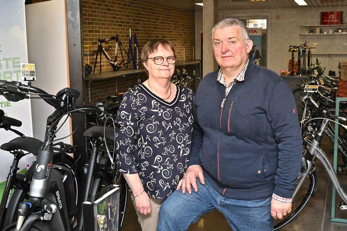 Dominique Durnez en Francine Pinoy (beiden 63) mogen binnenkort genieten van hun pensioen.