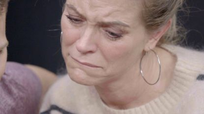 Karen Damen in tranen door progeriapatiëntjes Amber en Michiel