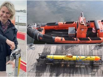 Even het kraantje opendraaien... En zeewater vloeit recht naar onderzoekers die onderwaterrobots uittesten
