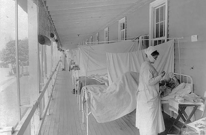 Walter Reed Hospital, Washington, novembre 1918