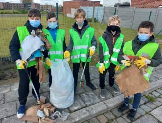 Sint-Lievensinstituut doet mee met zwerfvuilactie ILvA