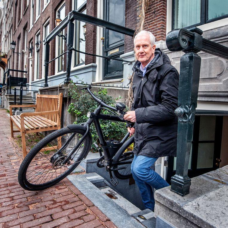 Wouter Deelman doet nu veel meer dan alleen elektrische taxi's. Beeld Raymond Rutting / de Volkskrant