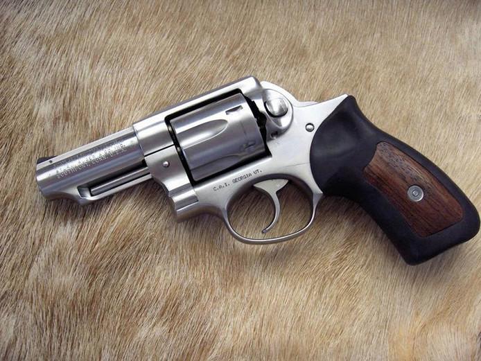 Een Ruger-revolver.