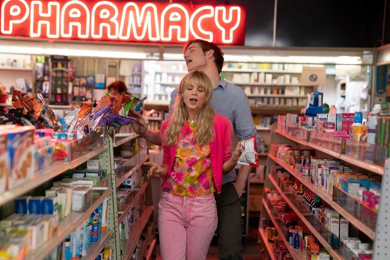 Carey Mulligan en Bo Burnham in Promising Young Woman. Beeld Merie Weismiller Wallace; SMPSP