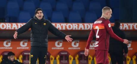 AS Roma-coach blundert op rampavond: hoezo maar vijf wissels?