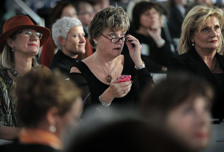 Vrouwen op The Women's Conference in 2011. Beeld null