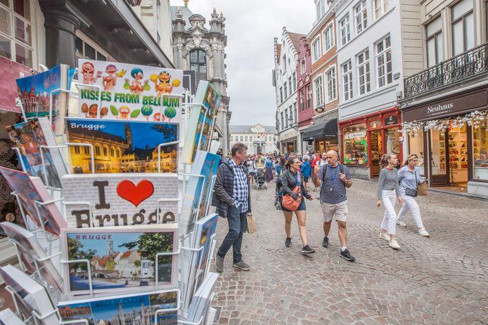De Britse toeristen laten het voorlopig afweten in Brugge en de Westhoek
