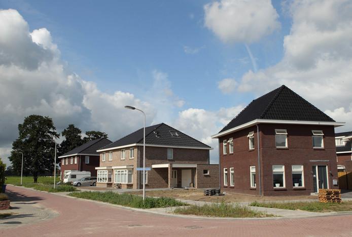 De nieuwbouwlocatie Kiezebos in Heino raakt volgebouwd.