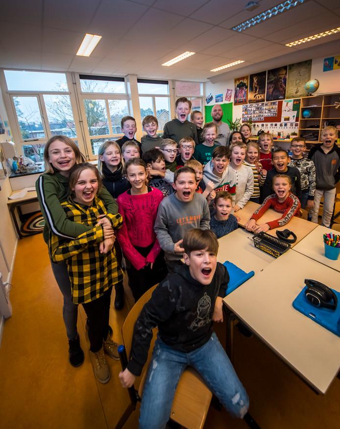 Groep 6/7/8 van basisschool De Uitvinding is de mediawijste klas van Overijssel.