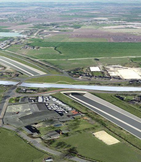 A58 bij Oirschot toch onder het water door? Minister aan de tand gevoeld nu aquaduct wellicht goedkoper kan