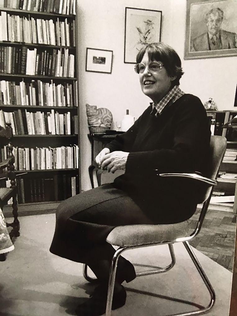 Jan als student in de jaren vijftig. Beeld